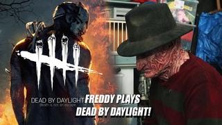 Freddy Krueger Plays Dead by Daylight