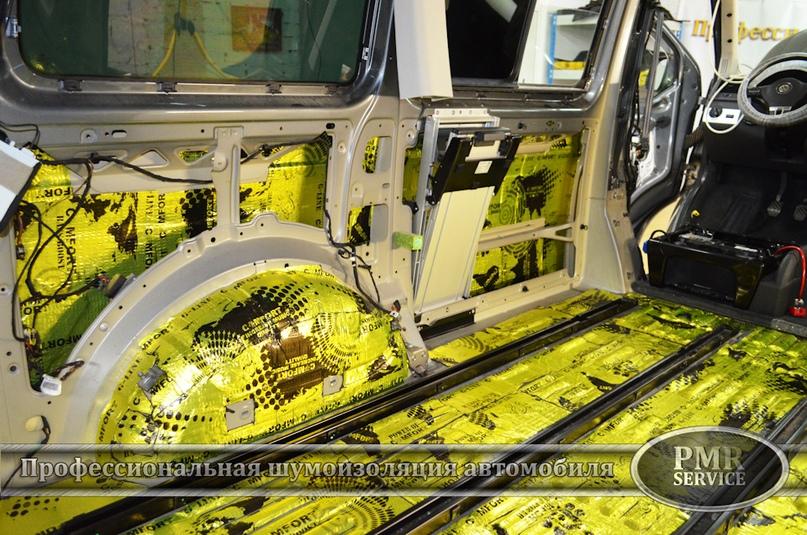 Шумоизоляция Volkswagen Multivan, изображение №16