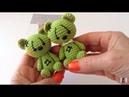 Oso en crochet para muñeca María amigurumis by Petus (English subtitles)