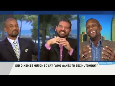 Alonzo Mourning says Who wants to sex Mutombo is true