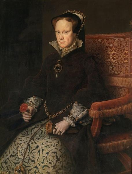 «Портрет Марии Тюдор», Антонис Мор (Моро) ван Дасхорст
