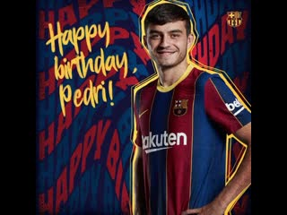🥳 Happy birthday, Pedri! 🇪🇸