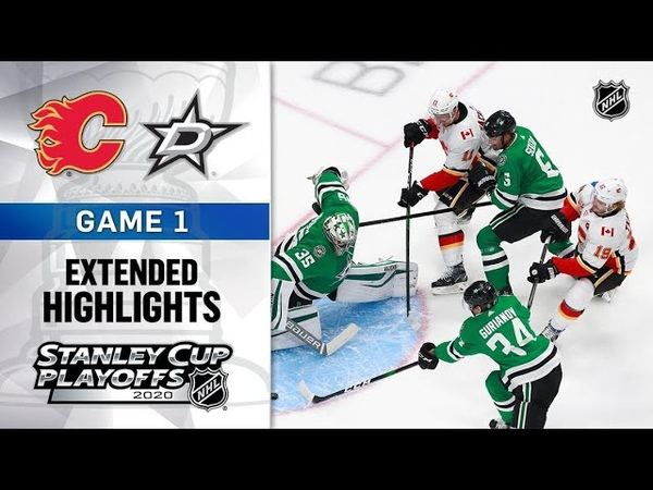Calgary Flames vs Dallas Stars Stanley Cup 2020 Game 1 Aug 11 2020 Обзор матча