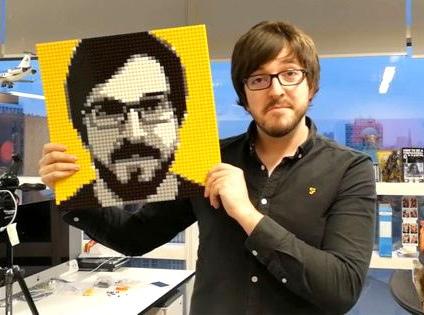 Портрет или любая другая картина из блоков