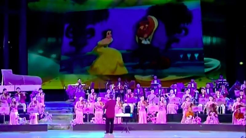 Samjiyon Band Medley of World Famous Anime Songs 세계만화영화음악묶음
