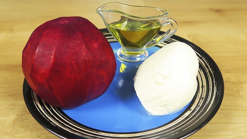 5 рецептов за 7 минут из сырой свеклы! Вкусные и Полезные салаты на скорую руку