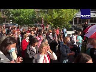 'Блестящий марш' оппозиции в Минске