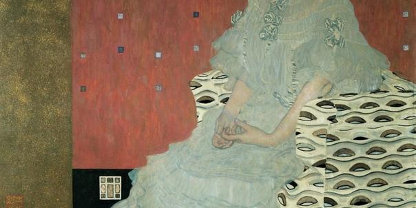 Портрет Фрицы Ридлер», Густав Климт