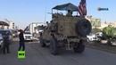 Los kurdos lanzan patatas a las tropas de