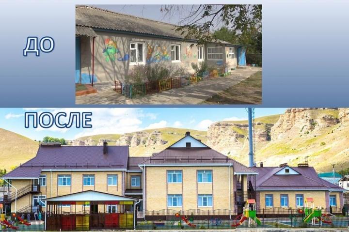 Новый детский сад открыли в Хабезском районе
