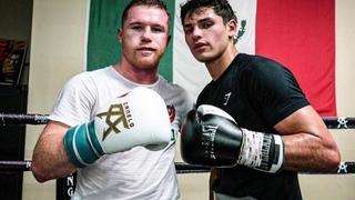 Самый быстрый боксер в мире Райан Гарсия  / Жесткие спарринги под присмотром Сауля Канело Альвареса