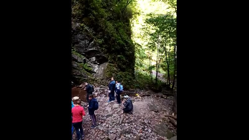 Водопад Изумрудный Аксаут
