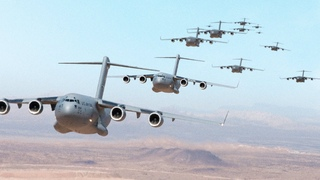 Insane Amount of Gigantic Cargo Aircraft Invade the US Sky