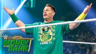 ДЖОН СИНА ВЕРНУЛСЯ! // WWE MONEY IN THE BANK 2021