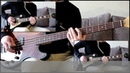 Как играть на бас гитаре Он не знает, что такое жить - Король и шут ( видеоурок Guitar riffs) табы