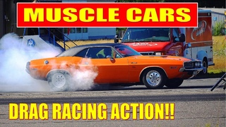 FASTEST Street Muscle Cars Drag Racing!! - Malmi Street Drags