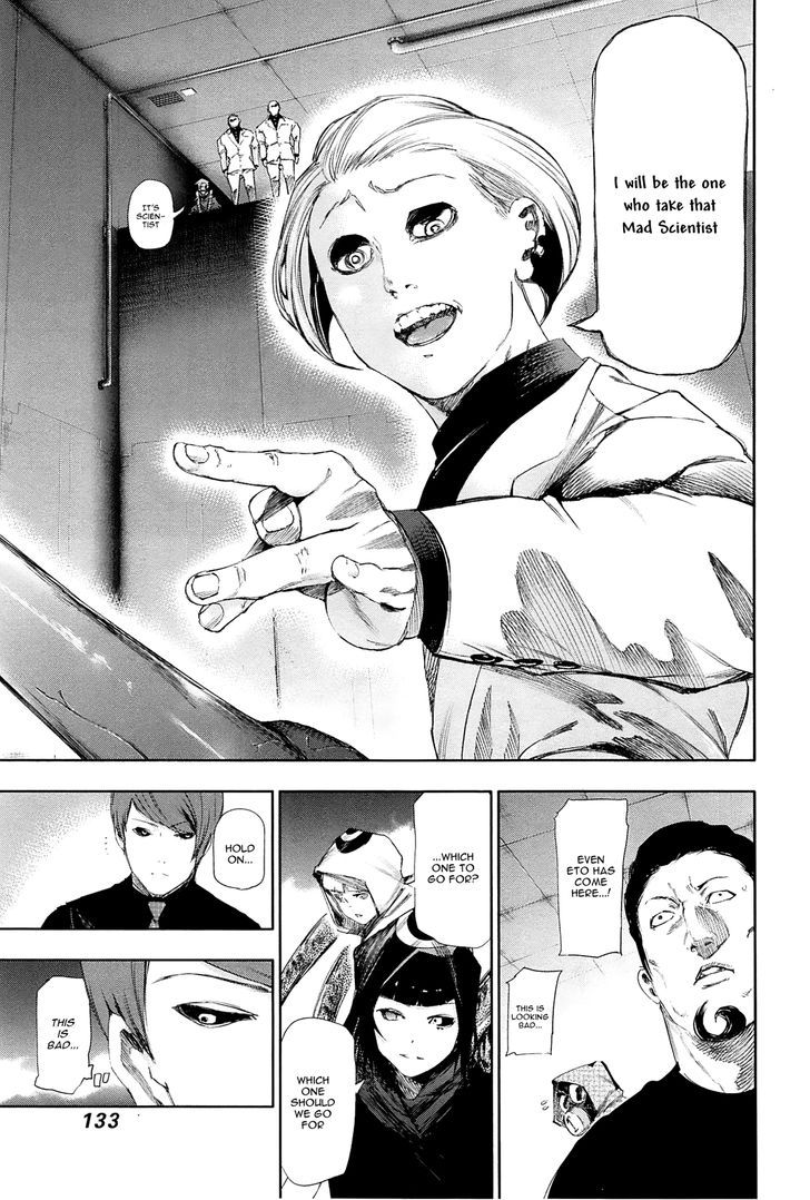 Tokyo Ghoul, Vol. 10 Chapter 96 Underground, image #16