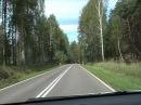 Driving in Poland дороги в Польше Polska road 65 Bialystok Grajewo