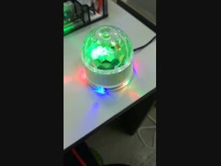 Диско-Шар cветодиодный Magic Ball Small DEKO