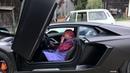 Grandma Irma beats the Lamborghini Aventador