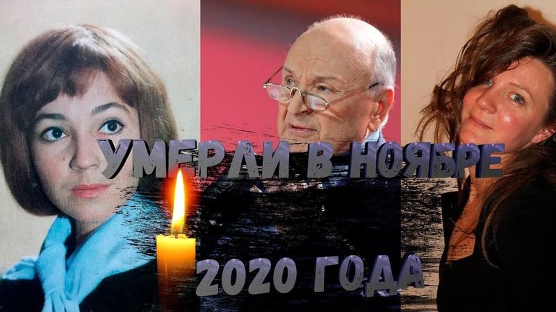 ИХ МЫ ПОТЕРЯЛИ В НОЯБРЕ 2020 ГОДА ЗНАМЕНИТОСТИ КОТОРЫЕ УМЕРЛИ В НОЯБРЕ
