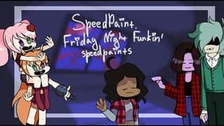 SpeedPaint. Friday Night Funkin' speedpaints