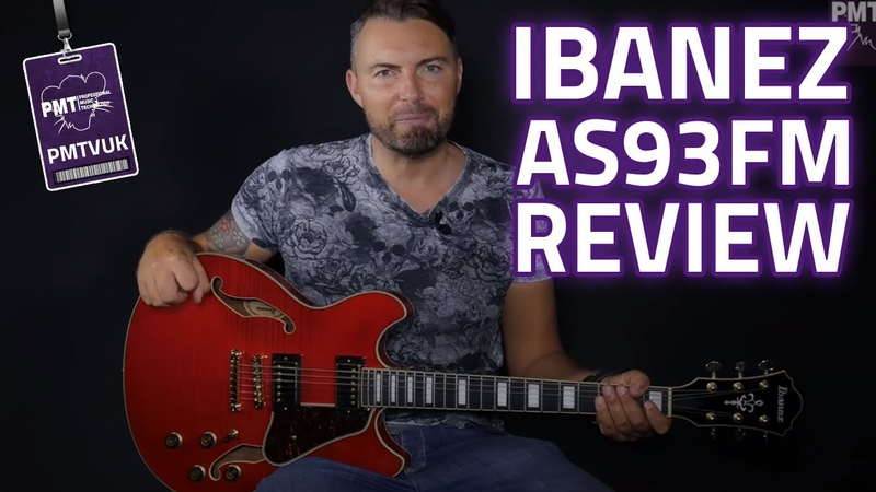 Ibanez AS93FM TCD Artcore Expressionist Semi Hollow Review