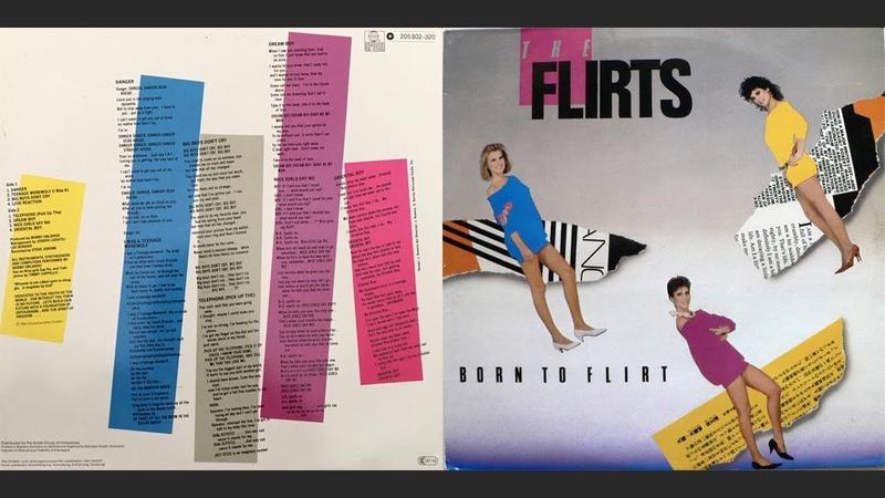 1983 LP Album The Flirts Born To Flirt