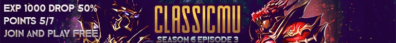 ClassicMu Season 6 Episode 3 Exp 1000 Drop 50%