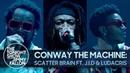 Выступление ConwayTheMachine, JID и Ludacris с треком «Scatter Brain» на шоу Джимми Фэллона