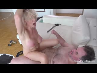 HeavyOnHotties - Nadya Basinger Cougar Town casting, anal, big tits, squirt, big ass, crempie, booty