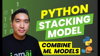 How to stack machine learning models in Python