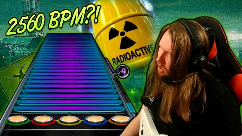 2560 BPM ~ Playing URANOID on plastic guitar Extratone Extreme Speedcore
