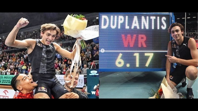 Mondo Duplantis 6 17 m New WORLD RECORD Pole Vault Salto con l'asta