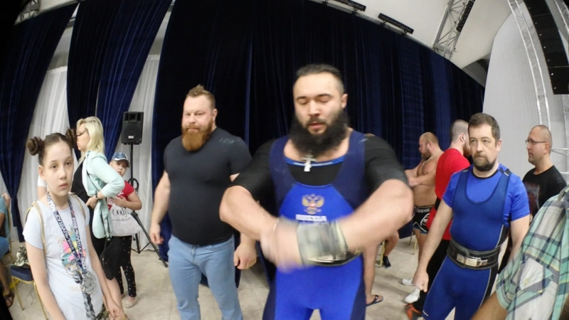 Павел Силушин. 272,5 кг Катана однослой