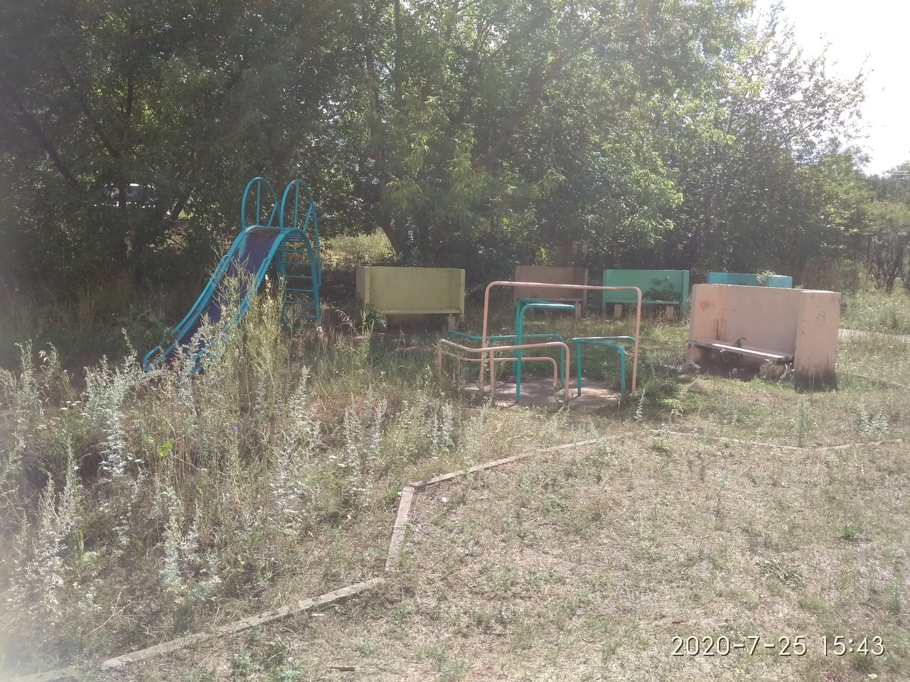 Детская площадка Гагарина 26, Чайковский, 2020 год