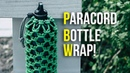 💧STAY HYDRATED! Wrap Your Bottle In Paracord! | Cow Hitch Bottle Wrap TUTORIAL