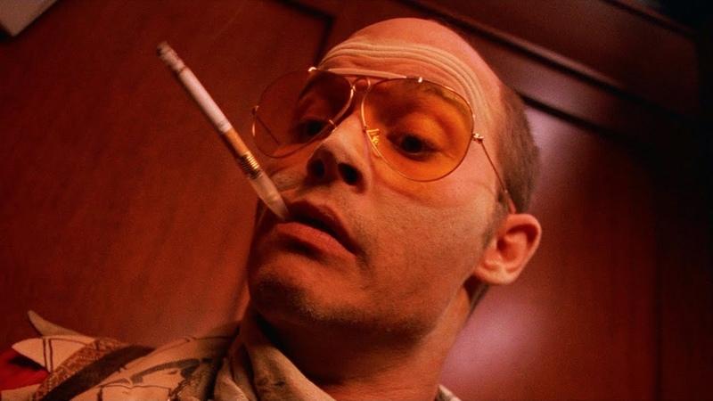 Сцена в лифте Страх и ненависть в Лас Вегасе 1998