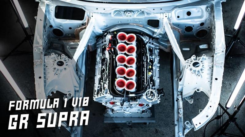 Гонщик превратит «Супру» в дрифт-кар с двигателем из Формулы-1
