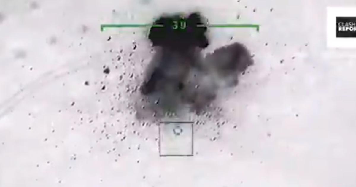 Появились кадры уничтожения второго российского ЗРПК Панцирь-С1 в Сирии