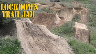 FIRST JAM ON NEW DIRT JUMPS MTB BMX
