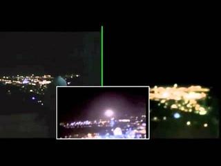НЛО над Храмовой горой в Иерусалиме