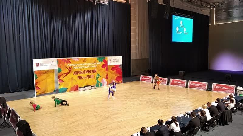Акробатический Рок н ролл ОМРТ 26 09 2020