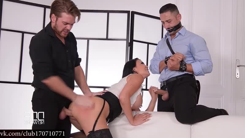 Jasmine Jae - Sit & Watch - Submissive Husband Watches Wife's Cowgirl Ride sexwife cuckold Муж вернулся домой и спалил жену