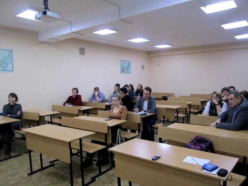 Профессор из Канады прочитал курс лекций на историческом факультете, изображение №1