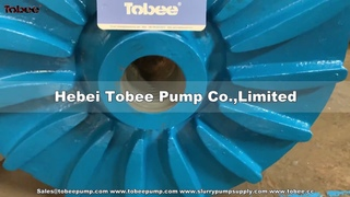 6/4 AH pumps and 4/3-AH  Horizontal Slurry Pump Parts E4147A05 Impeller