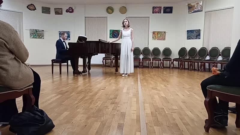 Live Высшая школа вокального мастерства Ларисы Юдиной
