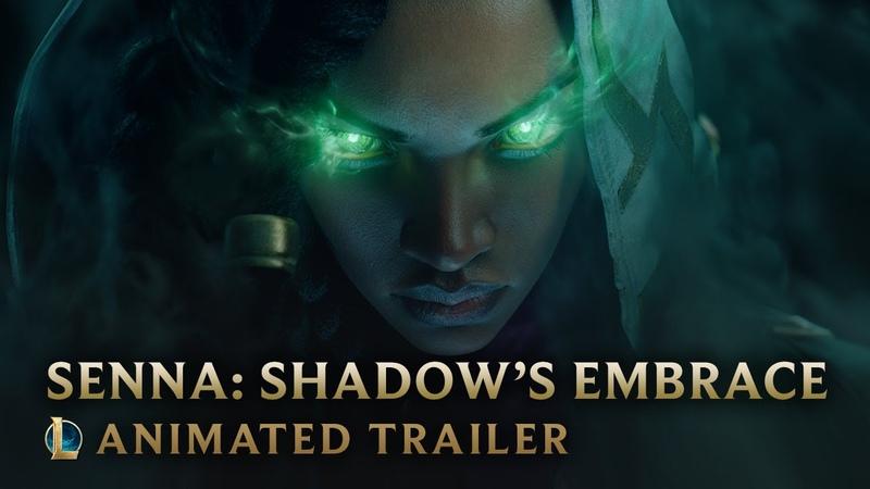 Senna: Shadow s Embrace Champion Animated Trailer League of Legends