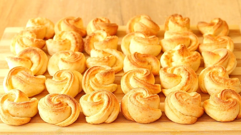 Лёгкий Рецепт ТВОРОЖНОГО Печенья🌼! Печенье из ТВОРОГА Цветочки – вкусное и нежное! Curd Cookies