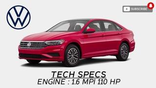 New Volkswagen JETTA 1.6 Quick Review. Acceleration 0-100. Russian Cyberpunk (FUN) 2021